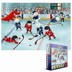 60 Piece Puzzle - Junior League Hockey