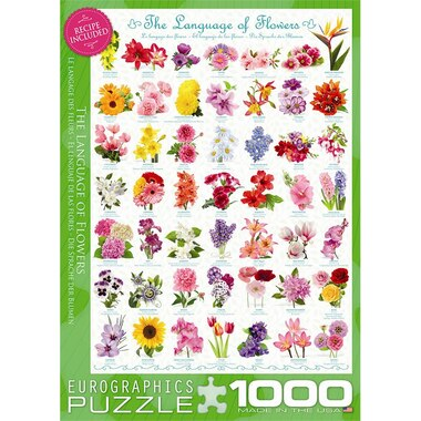 Language of Flowers 1000 Piece Puzzle