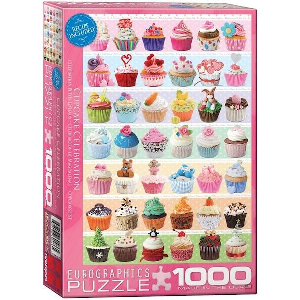 Cupcakes Celebration 1000-Piece Puzzle