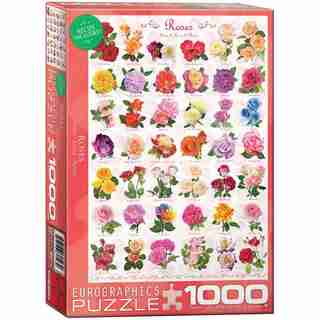Roses Chart 1000 Piece-Puzzle