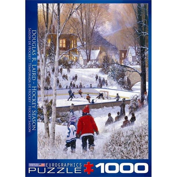Hockey Season 1000 pc Puzzle