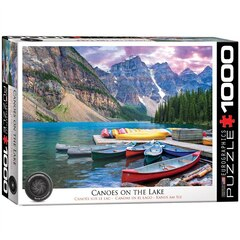 Canoes on the Lake 1000-Piece Puzzle