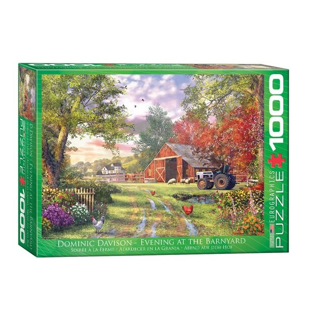 Davison Evening at the Barnyard 1000-Piece Puzzle