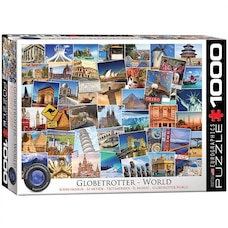 Globetrotter World 1000-Piece Puzzle