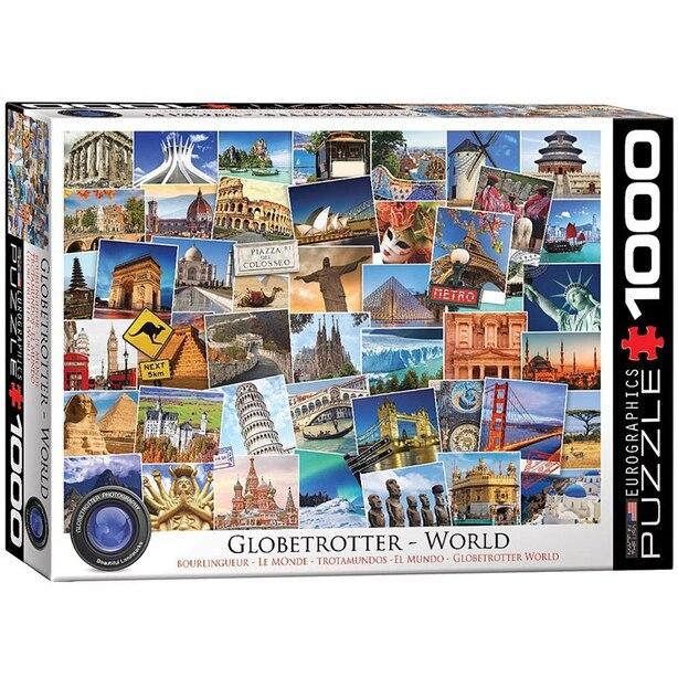 Globetrotter World 1000-Piece Puzzle