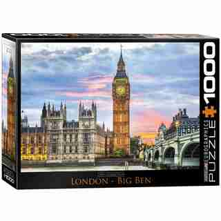 London Big Ben 1000 Piece Puzzle