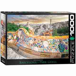 Eurographics Barcelona Park Guell 1000 Piece Puzzle