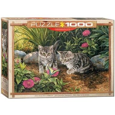 Double Trouble Kittens 1000 pc