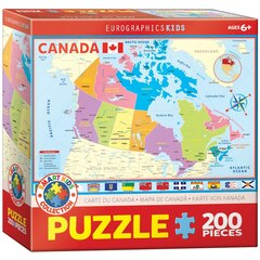 Map of Canada 200 PC Puzzle