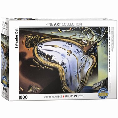 Melting Clock by Salvador Dali' 1000 pc Puzzle