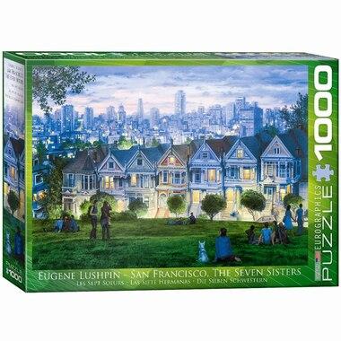 San Francisco- The Seven Sisters 1000 Piece Puzzle