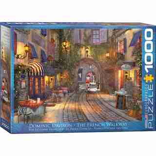 The French Walkway 1000 PC Puzzle
