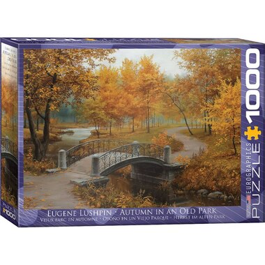 Autumn in an Old Park 1000 PC Puzzle