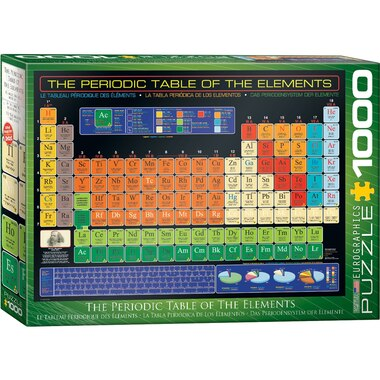 The Periodic Table of Elements 1000 Piece Puzzle