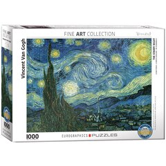 Van Gogh Starry Night 1000 Piece Puzzle