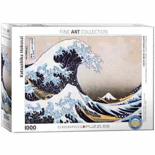 Eurographics Jigsaw Puzzle Great Wave of Kanagawa 1000 Pieces
