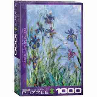 Irises by Claude Monet 1000-Piece Puzzle