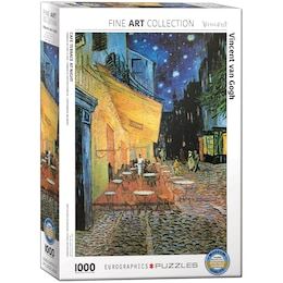 Van Gogh - Café at Night-detail 1000 piece Puzzle