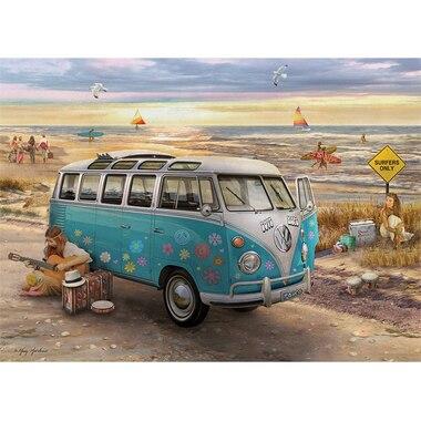 The Love & Hope VW Bus 1000 Piece Puzzle