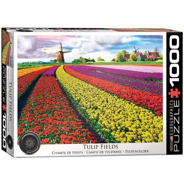 Tulip Field - Netherlands 1000 pc