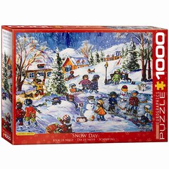 Snow Day 1000 Piece Puzzle