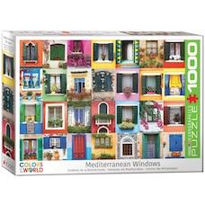 Mediterranean Windows 1000-Piece Puzzle