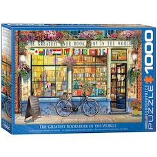 The Greatest Bookstore in the World 1000-Piece Puzzle
