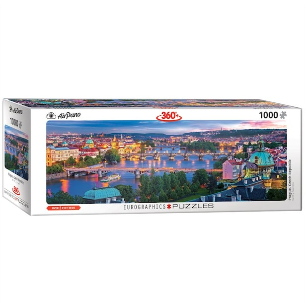 Prague Czech Republic 1000-Piece Puzzle (Panorama)