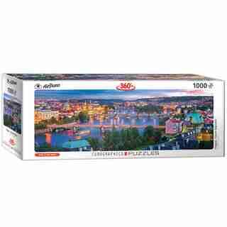 Prague Czech Republic 1000-Piece Puzzle (Panorama)