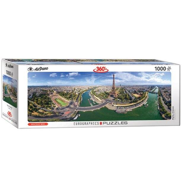 Paris France 1000-Piece Puzzle (Panorama)