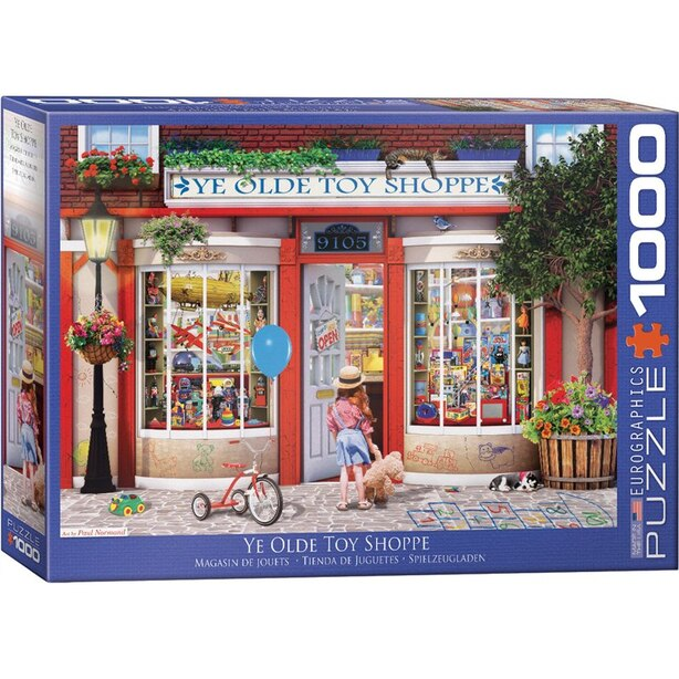 Eurographics Jigsaw Puzzle Ye Old Toy Shoppe 1000 Pieces