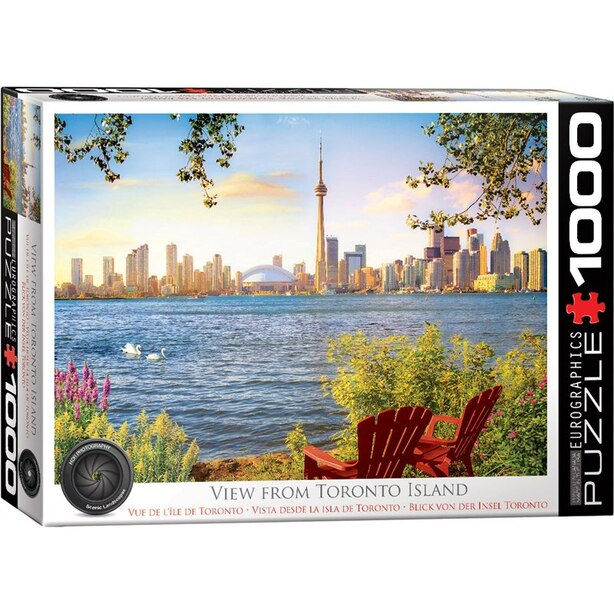 Eurographics Jigsaw Puzzle View from Toronto Island 1000 Pieces