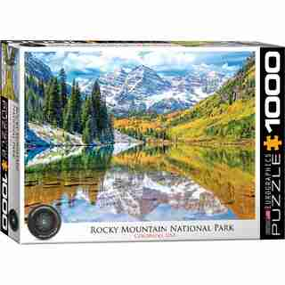Eurographics Jigsaw Puzzle Rocky Mountain National Park 1000 Pieces
