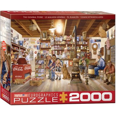 Eurographics Jigsaw Puzzle The General Store 2000 Pieces