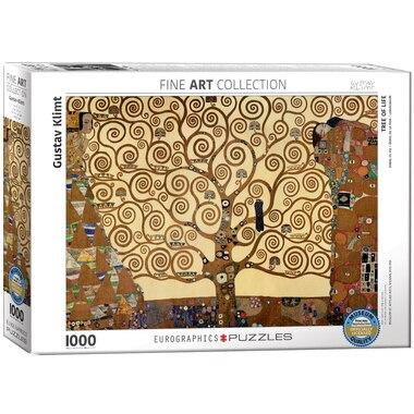 Klimt - Tree of Life 1000 piece Puzzle