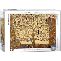 Klimt - Tree of Life 1000 piece Puzzle