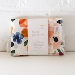 Organic Cotton Face Cloth Sierra Florals