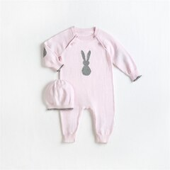 BABY 2PC SET, LIGHT PINK 3M