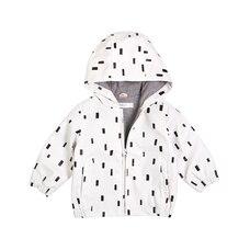 Miles Baby Raincoat - White - 18 Months