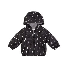 Miles Baby Raincoat - Black - 12 Months