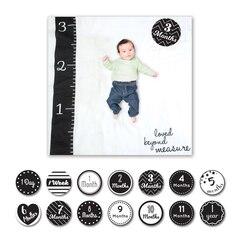 Lulujo Baby's 1st Year Loved Beyond Measure Blanket & Cards Set