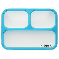 O-BNTO LEAK-PROOF BENTO BOX 3 COMPARTMENT BLUE