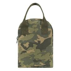 Zipper Lunch Bag Camo