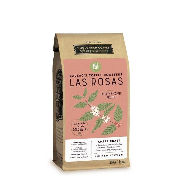Las Rosas - Café en Grains Entiers 340g