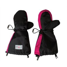 Stonz Youth Mitts Toddler Winter Mittens Black Pink Accent 2 to 4 Years