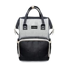 Stonz Urban Pack Diaper Bag - Grey and Black