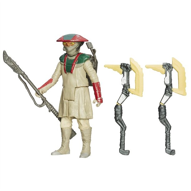 Star Wars Episode VII Constable Zuvio Figure with Axes