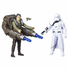 Star Wars First Order Snowtrooper and Poe 2 Pack