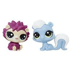 Littlest Pet Shop Mini 2-Pack (skunk/hedgehog)