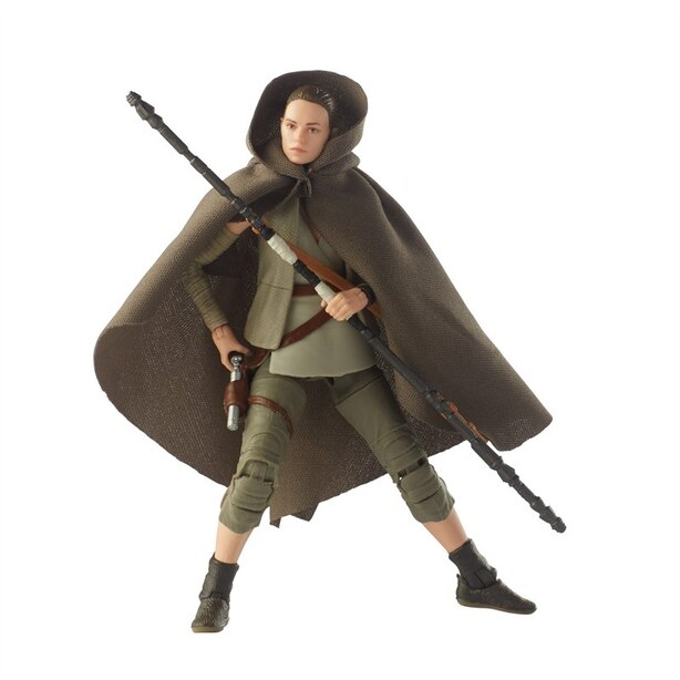HASBRO STAR WARS THE BLACK SERIES ACTION FIGURE Rey Island Journey 6''